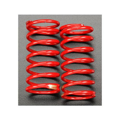 Traxxas TRA5439 Red GTR Shock Spring 3.8 Rate Gold Revo