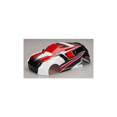 Traxxas 7515 Body LaTrax Rally Red Decals TRAC9815