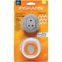 Fiskars Everywhere Punch Window Maker Cartridge, Honeycomb