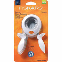 Fiskars Large Squeeze Punch, Hexagon