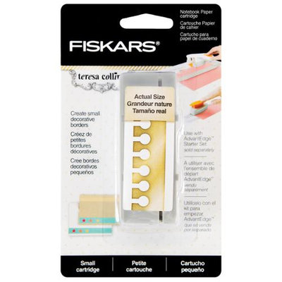 Fiskars Teresa Collins Border Punch Cartridge-Notebook Paper