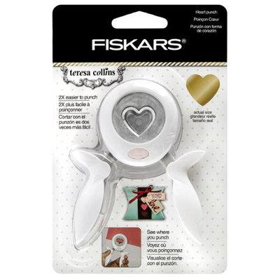 Fiskars Teresa Collins Medium Squeeze Punch-Heart