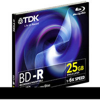TDK 61682 6x Write-Once Blu-ray Disc - Single