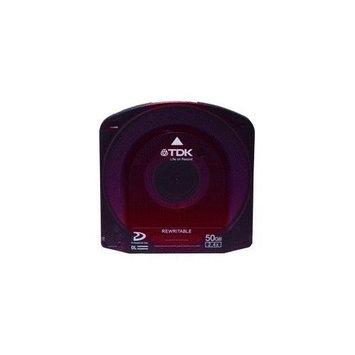 Tdk Media Tdk 61762 Disc Blu-ray Dual Layer 50GB 2.4x Professional Rewriteable Jewel Case