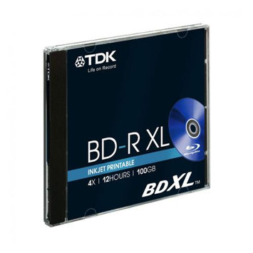 Imation Corporation TDK 100GB 4X BD-R Inkjet Printable Single Disc