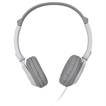 Memorex 62132 St100 Over Ear Headphones Accs 3.5mm 4ft Stereo Wht