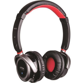 Memorex TDK Life on Record WR680 Wireless Headphones - Stereo - Black - - Bluetooth