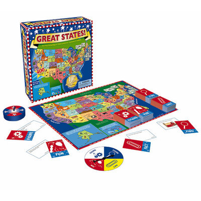 International Playthings Great States - Quiz - 2 to 6 Players