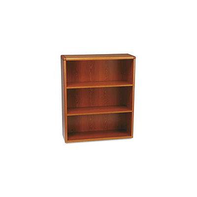 HON 10700 Series Bookcase, 3 Shelves, Henna Cherry