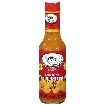 JCS Scotch Bonnet Pepper Sauce 5 oz