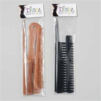 DDI 1281501 Professional Comb Set 3 Piece