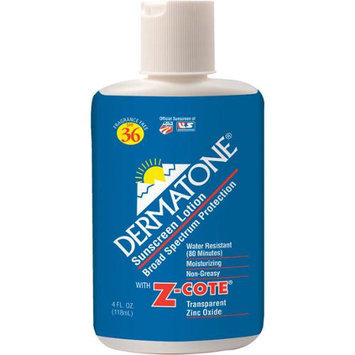 Dermatone SPF 36 Sunblock with Z-Cote - 4oz Bottle