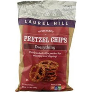 Laurel Hill Foods Pretzel Chps Everything 7 OZ (Pack of 12)