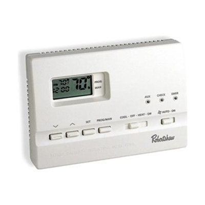 Robertshaw 661307 2 Stage Electronic Thermostat 7 Day Programmable