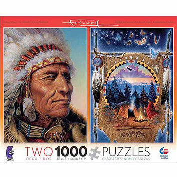 Ceaco 1000-Piece Puzzles Value Pack - Native American