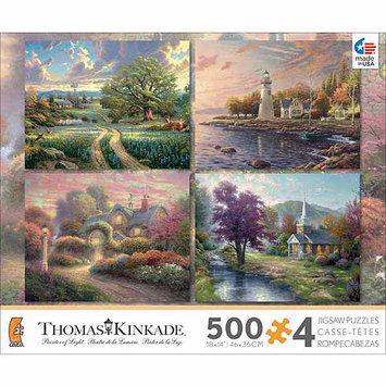 Thomas Kinkade 4-pk. 500-pc. Puzzles