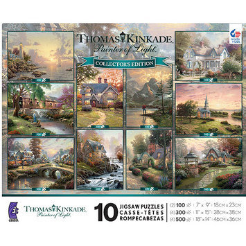Ceaco - Thomas Kinkade Collector's Edition Puzzle 10-Pack