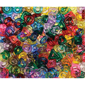CHENILLE KRAFT COMPANY CK-3267 STRINGING RING BEADS 220PC ASSORTED