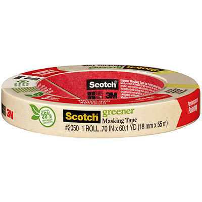 3M Scotch General Painting Masking Tape #2050 3/4