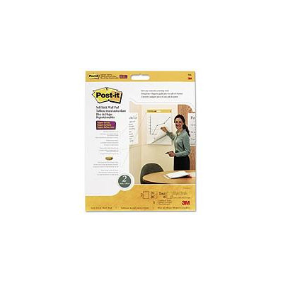 3M Self-Stick Wall Easel Post-it Pad