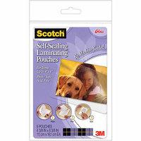 3M Self-Sealing Laminating Pouches, 4