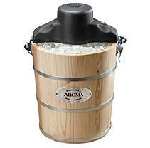 Aroma 6-Qt. Traditional Ice Cream Maker AIC-206EM