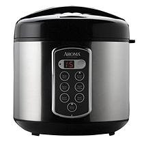 Aroma Sensor LogicA 20-Cup Rice Cooker and Food Steamer