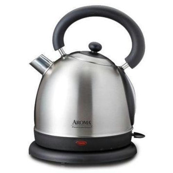 Aroma Housewares Aroma Awk-505s Electric Kettle - 1500 W - 1.90 Quart - Stainless Steel (awk-505s)
