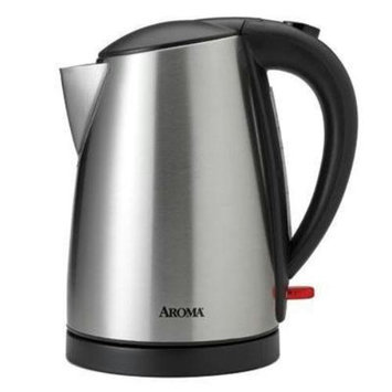 Aroma Housewares Aroma 1.7 Liter [7 Cup] Electric Water Kettle - 1.80 Quart (awk-1400sb)