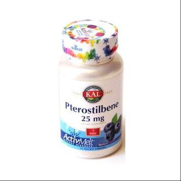 KAL Pterostilbene Blueberry 25 mg - 30 Mini Tablets