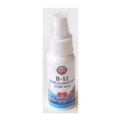 Kal - B12 Methylcobalamin ActivSpray Berry 2500 mcg. - 2 oz.