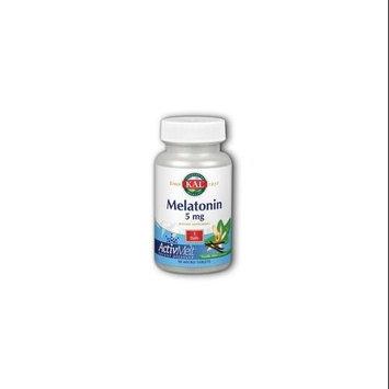 Kal - Melatonin ActivMelt Vanilla Mint 5 mg. - 90 Tablets