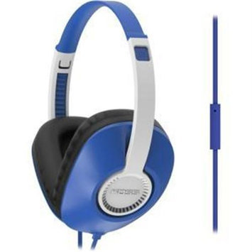 Koss Ur23i Headset - Stereo - Blue - Mini-phone - Wired - 34 Ohm - 20 Hz - 20 Khz - Over-the-head - Binaural - Circumaural - 3.94 Ft Cable (189634)