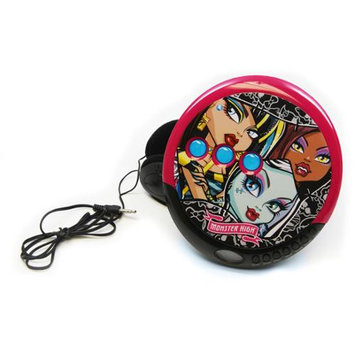 Sakar International SAKAR Monster High CD Player 36048
