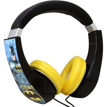 Sakar International Batman Kids Friendly Over-The-Ear Headphones