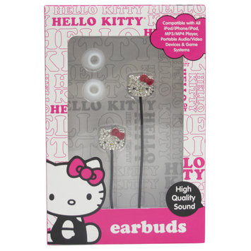Hello Kitty Bling-Style Earbuds