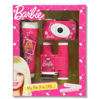 Sakar International Barbie 3 Piece Adventure Kit (Camera, Binoculars & Flashlight)