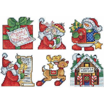Design Works Crafts, Inc. Design Works Plastic Canvas Kit, Santa's Workshop