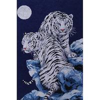 Tobin Moonlit Tigers Counted Cross Stitch Kit-16