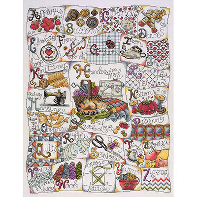 Tobin Stitching ABC Counted Cross Stitch Kit