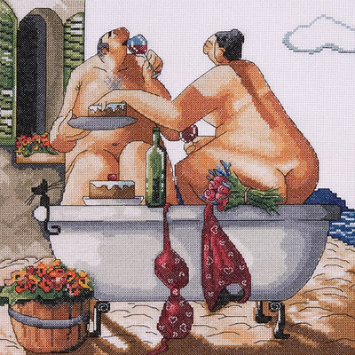 Tobin Bathing Beauties Counted Cross Stitch Kit