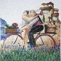 Design Works Crafts, Inc. Just Married Counted Cross Stitch Kit-14