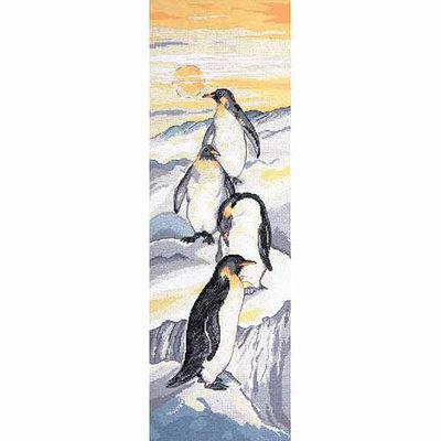 Tobin Penguins Counted Cross Stitch Kit