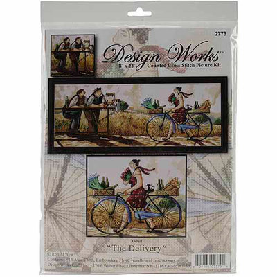 Tobin The Delivery Counted Cross Stitch Kit