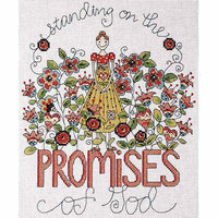 Tobin Heartfelt Promises Counted Cross Stitch Kit - 8 X10 14 Count