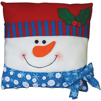 Tobin Pillow Applique Kit, Snowman