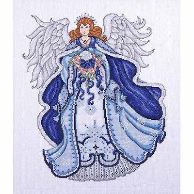 Tobin Blue Angel Counted Cross Stitch Kit