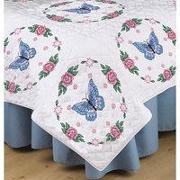 Tobin NOTM407349 - Stamped White Quilt Blocks 18
