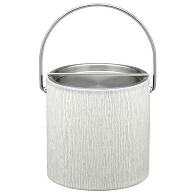 Artic Birch 3qt Ice Bucket with Metal Cover