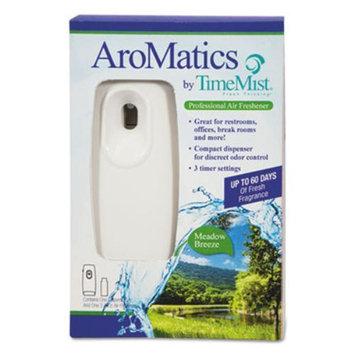 Waterbury Companies 1047355 Aromatics Dispenser/refill Kits 3oz Meadow Breeze Refill White Dispenser